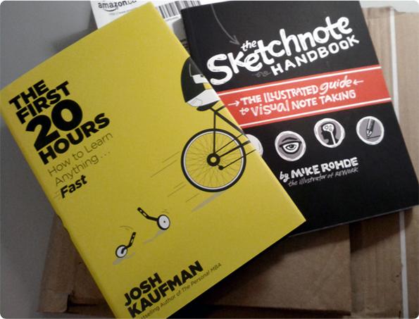 Livres-First-20hours-et-Sketchnote-2014